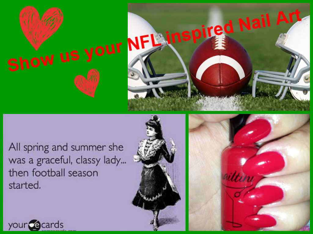 ... Season With Our NFL-inspired Nail Art Contest | 'Tini Beauty Blog